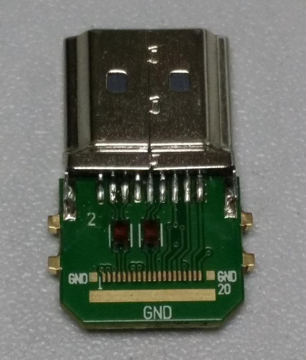 HDMI WITH INDUCTANCE CONNECTOR